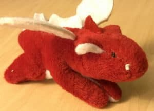 Dragon Systems plush toy