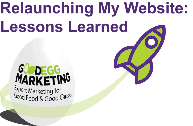 Relaunching my Website: Lessons Learned