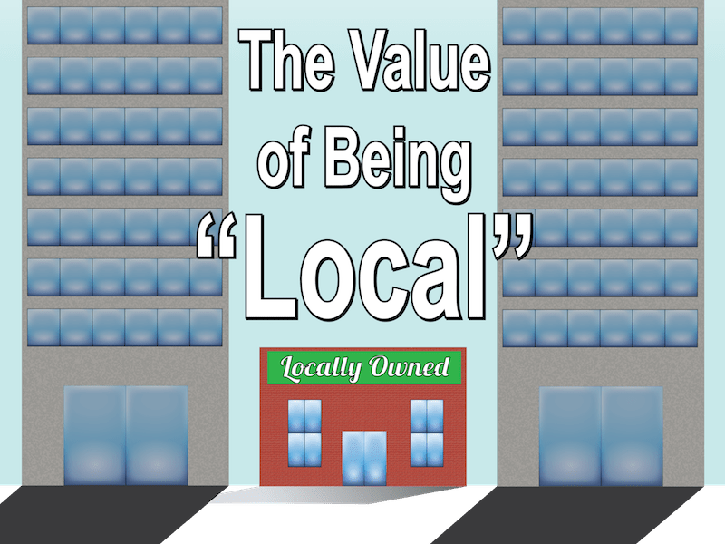 Graphic for how to promote your local business