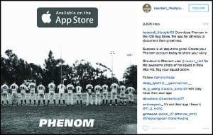 Phenom baseball