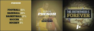 phenom insta examples