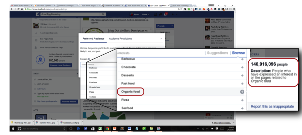 Example of Facebook Audience Optimization