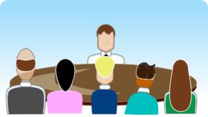 Illustration of a focus group